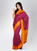 Urban Vastra Checkered Silk Sari
