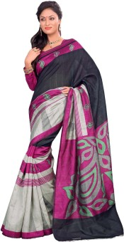 Sudarshan Silks Self Design Kosa Handloom Art Silk Sari