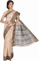 Sareez Geometric Print Cotton Sari