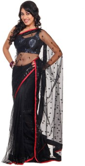 Riwaz Collection Self Design Bollywood Net Sari