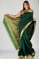 Bhavish Striped Silk Sari