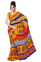 Priyanka Design Printed Silk Sari