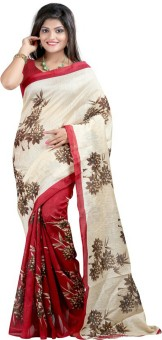 Sunita Sarees Striped Mysore Art Silk Sari - SAREG2A55Z4EABBP