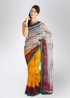 Mrignain Chiffon Sari