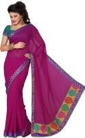 Ishin Striped Georgette Sari