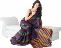 Ishin Striped Cotton Sari