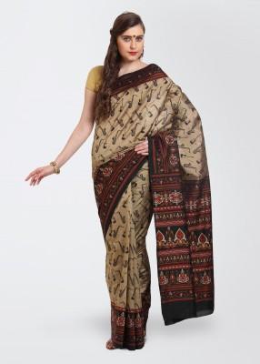Get best deal for Urban Vastra Printed Art Silk Sari at Compare Hatke