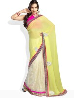 Soch Striped Synthetic Sari