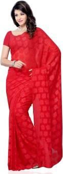 Diva Fashion Floral Print Fashion Jacquard Sari