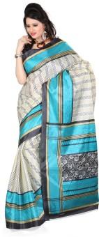 Kajal Sarees Printed Fashion Art Silk Sari