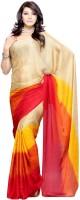 Priyankas Solid Chiffon Sari