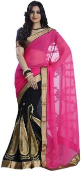 Kalazone Printed Georgette Chiffon Sari