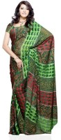 Dealtz Fashion Printed Brasso Sari