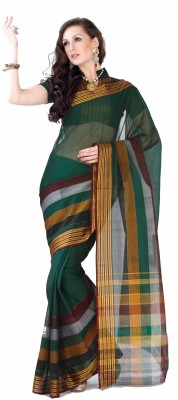 Ishin Printed Cotton Sari available at Flipkart for Rs.792