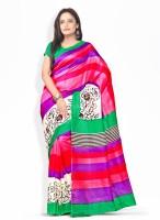 Florence Printed Silk Sari
