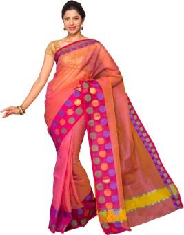 Pavechas Solid Banarasi Silk Sari
