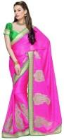 Fashionista Printed Embellished Crepe Sari