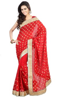 Siddhi Silk Self Design Fashion Handloom Georgette Sari