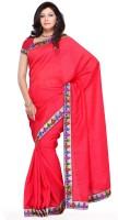 Mehak Solid Silk Sari