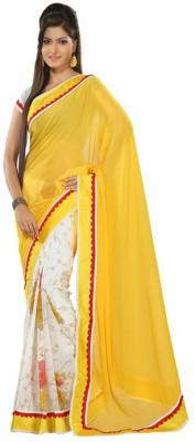 Dhanu Fashion Embriodered Bollywood Chiffon Sari