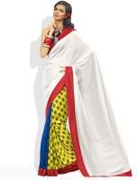 Vishal Floral Print Silk Sari