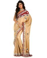 Samyakk Printed Net Sari