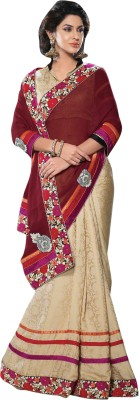 Triveni Self Design Fashion Jacquard Sari