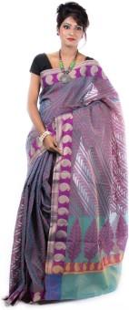 Banarasi Style Embellished Banarasi Cotton Sari