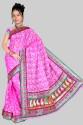Pavechas Banarasi Floral Print Brasso Sari