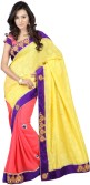 Saree India Embriodered Fashion Pure Georgette Sari