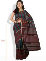 Shreejee Floral Print, Geometric Print Cotton Sari