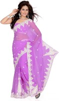 Ishin Printed Chiffon Sari