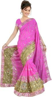 Deepjyoti Sarees Printed Fashion Pure Chiffon Sari