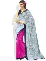 Vishal Solid Silk Sari