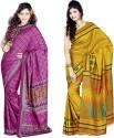 Sunaina Printed Art Silk Sari - SARDTX45WZPKJFQA