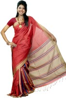 Hawai Printed Embellished Silk Sari