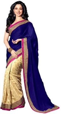 Fashionsurat Embriodered Fashion Jacquard Sari