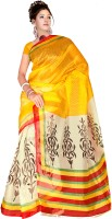 Good Karma Floral Print Net Sari