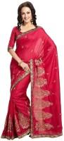 Ethnic Dukaan Solid Art Silk Sari