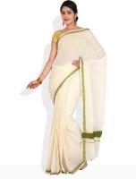 Ennthra Printed Cotton Sari