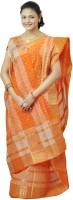 Hawai Striped Embellished Cotton Sari