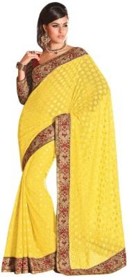 Triveni Floral Print Fashion Net Sari