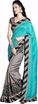 Accurate Creation Printed Bhagalpuri Art Silk Sari