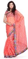 Mehak Floral Print Jacquard Sari