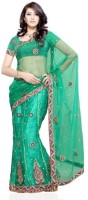 Dealtz Fashion Printed Net Sari