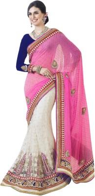 Triveni Self Design Lehenga Saree Net Sari