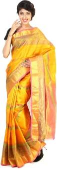 Sudarshan Silks Printed Kanjivaram Silk Sari