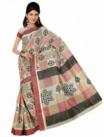 Rangmanch Printed Cotton Sari