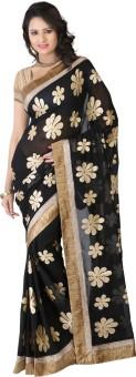 Bunny Sarees Floral Print Fashion Georgette Sari