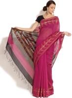 Fabindia Floral Print Cotton Sari